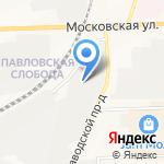 Стеклянные конструкции на карте Кирова
