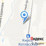 Кировснабсервис на карте Кирова