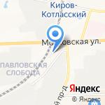 Строительная компания на карте Кирова
