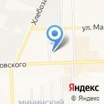 Кудесница на карте Кирова