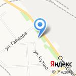Алина на карте Кирова