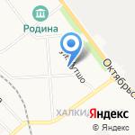 Детский сад №107 на карте Кирова