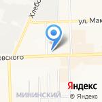Авеню на карте Кирова