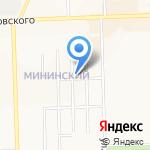 Полянка на карте Кирова