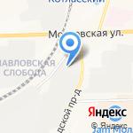Форум на карте Кирова