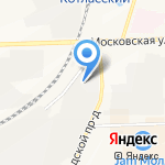 Герасим на карте Кирова