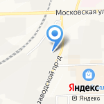 Pena на карте Кирова