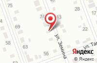 Схема проезда до компании Сараф в Димитровграде