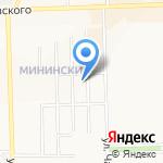 Астора на карте Кирова