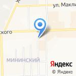 Шарм-плюс на карте Кирова