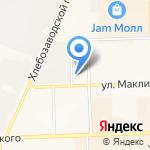 Главное управление МЧС России по Кировской области на карте Кирова