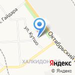 ЛЕПСЕ-УЮТ на карте Кирова