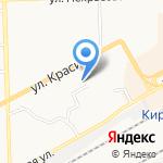 Золотые Ручки на карте Кирова