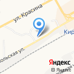 Привокзальная на карте Кирова