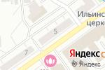 Схема проезда до компании Сундучок в Кирове