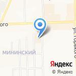 Хлынов на карте Кирова