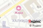 Схема проезда до компании Ажур в Кирове