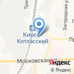 Элеон на карте Кирова
