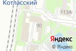 Схема проезда до компании Элеон в Кирове