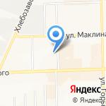Альба-Мед на карте Кирова