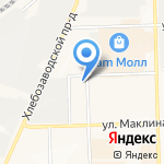 КРТЛЕД на карте Кирова