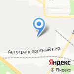 Нововятский строитель на карте Кирова