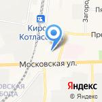 М-Транс на карте Кирова