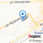 ЖК Виктория на карте Кирова