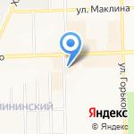 Зебра на карте Кирова