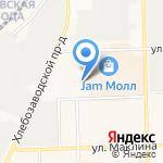 Салют-43 на карте Кирова