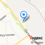 Лепсе на карте Кирова
