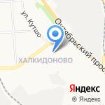Смайл на карте Кирова