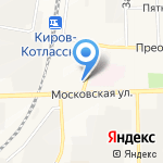 Автомастерская на карте Кирова