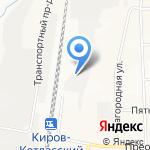 Аппетито на карте Кирова