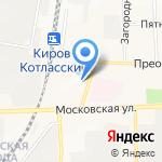 Вольтаж на карте Кирова