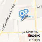 Афродита на карте Кирова