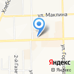 АвтоАльянс на карте Кирова