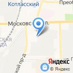 Джулия ПРАТО на карте Кирова