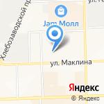 Три поросёнка на карте Кирова