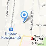НиЛ на карте Кирова