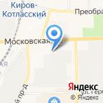 Вятский колледж профессиональных технологий на карте Кирова