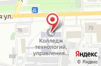 Схема проезда до компании Стекломир в Кирове