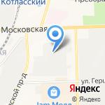 Юником на карте Кирова