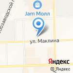 Торос-тур на карте Кирова