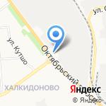 Контур мебель на карте Кирова