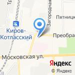 ДТП-центр на карте Кирова