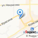 Полигон на карте Кирова