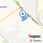 Хостел на карте Кирова