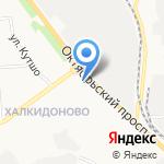 Данар на карте Кирова