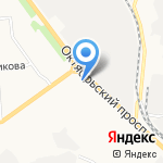 Городские окна на карте Кирова